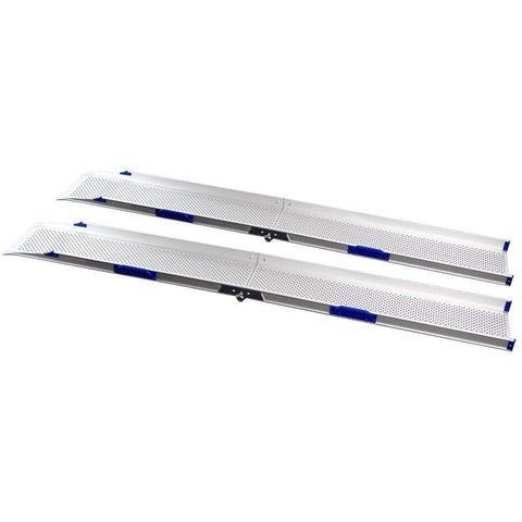 FEAL 2.12m Portable Folding Loading Ramps, Pair