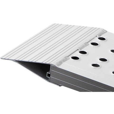 FEAL 2m x 800kg Heavy-Duty Rigid Aluminium Loading Ramps, Pair