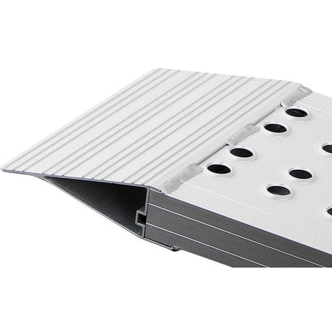 FEAL 2m x 800kg Heavy-Duty Folding Aluminium Loading Ramps, Pair