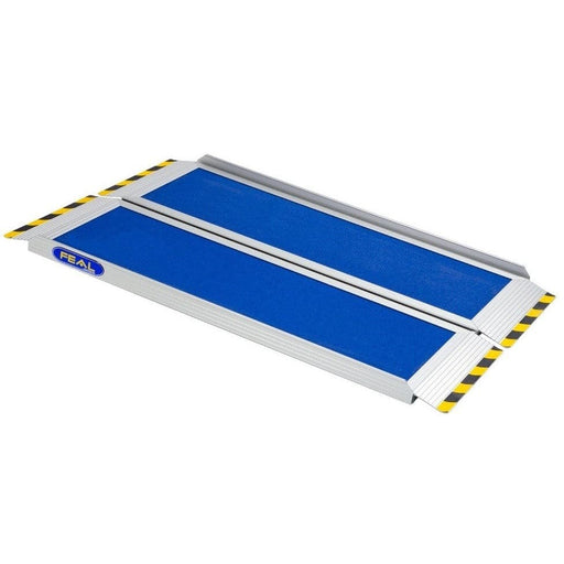 FEAL iRamp 1.16m Folding Aluminium Wheelchair Ramp, 400kg Capacity - Feal - Ramp Champ
