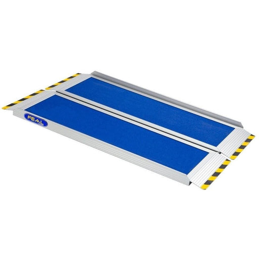 FEAL iRamp 2m Folding Aluminium Wheelchair Ramp, 400kg Capacity - Feal - Ramp Champ