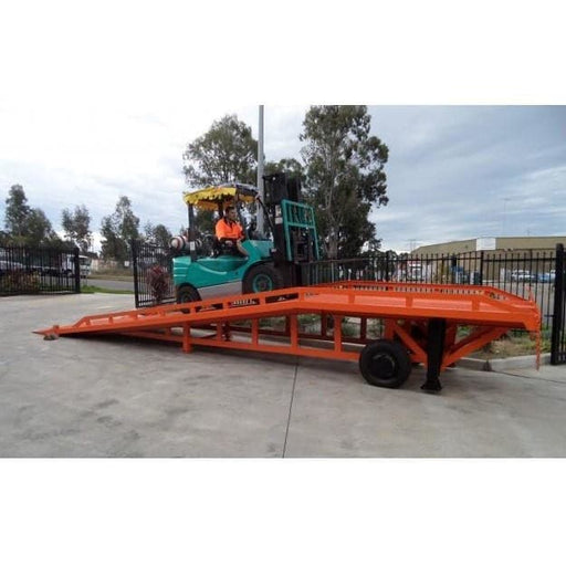 Niuli 8-Tonne Full-Size Steel Forklift Dock Ramp / Yard Ramp - Niuli - Ramp Champ