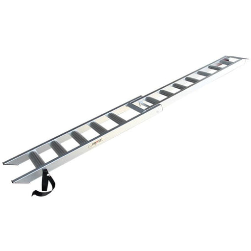 MXO 2.1m x 180kg Aluminium Folding Motorcycle Ramp, Single - MXO - Ramp Champ