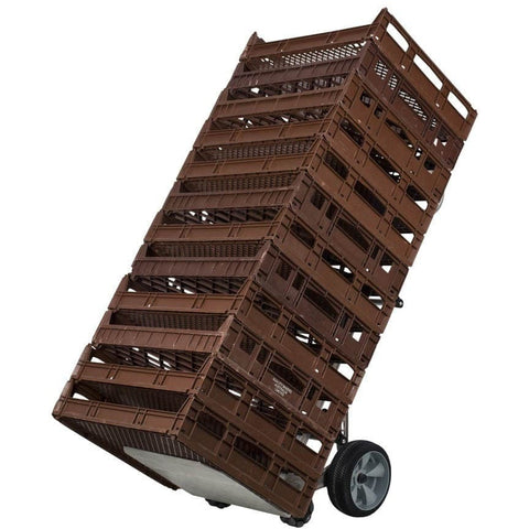 Rotacaster Bread Crate Rotatruck (12 or 15 crates) Hand Trolley, 200kg Capacity