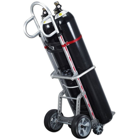 Rotacaster Dual Gas Cylinder Rotatruck Hand Trolley, 150kg Capacity