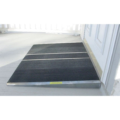 PVI Aluminium Solid Self-Supporting Threshold Ramp, 270kg Capacity - PVI - Ramp Champ