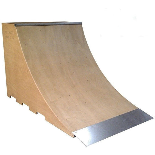 Skate Board Ramp >> Wa Skate Ramps 1 2m X 1 2m Quarter Pipe Ramp 4ft High X 4ft Wide