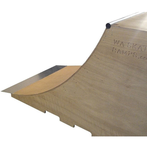 WA Skate Ramps 1.2m High x 2.4m Wide Quarter Pipe Skate Ramp