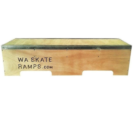 WA Skate Ramps 1.2m Long Skateboard Ledge _ Grind Box