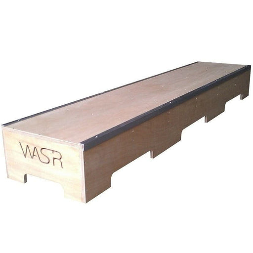 WA Skate Ramps 1.8m Slappy Grind Box Low Skate Ledge