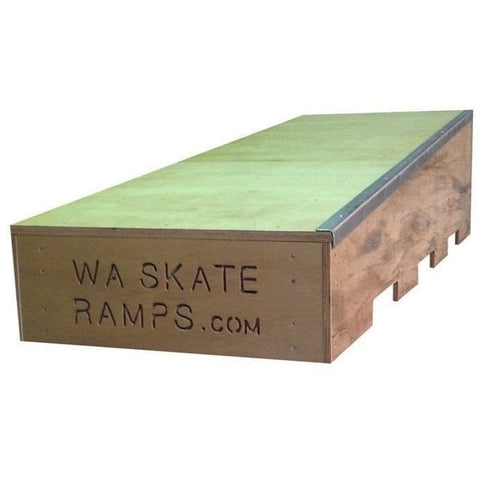 WA Skate Ramps 1.8m Up Ledge Skate Ledge Skateboard Grind-box