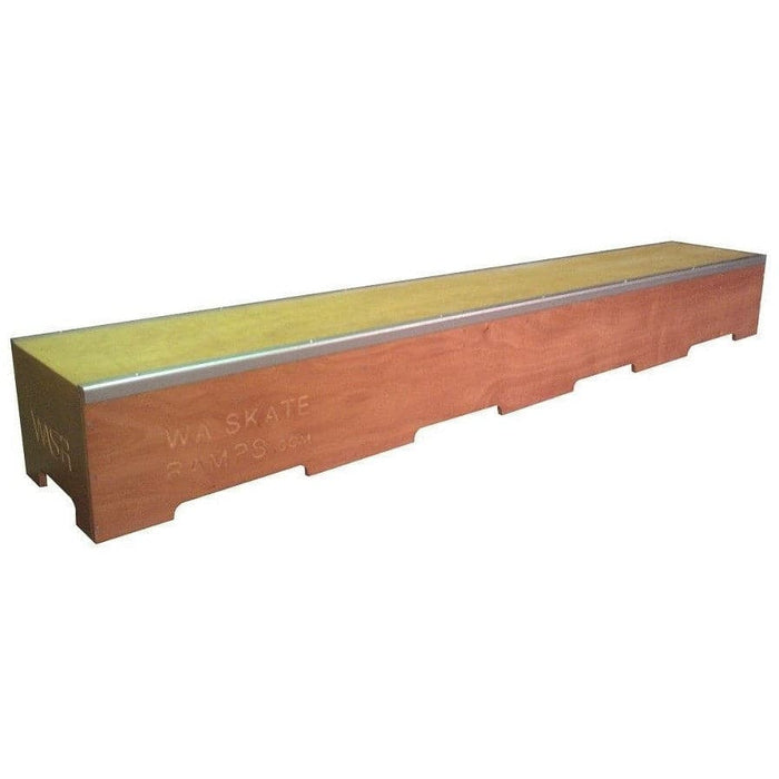 WA Skate Ramps 2.4m Long Skateboard Ledge Grind Box (8ft Long) - WA Skate Ramps - Ramp Champ