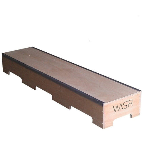 WA Skate Ramps 2.4m Slappy Grind Box Low Skate Ledge