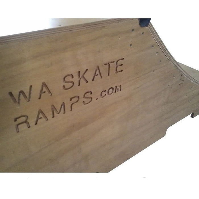 WA Skate Ramps 60cm x 1.2m Quarter Pipe Ramp (2ft High x 4ft Wide) - WA Skate Ramps - Ramp Champ