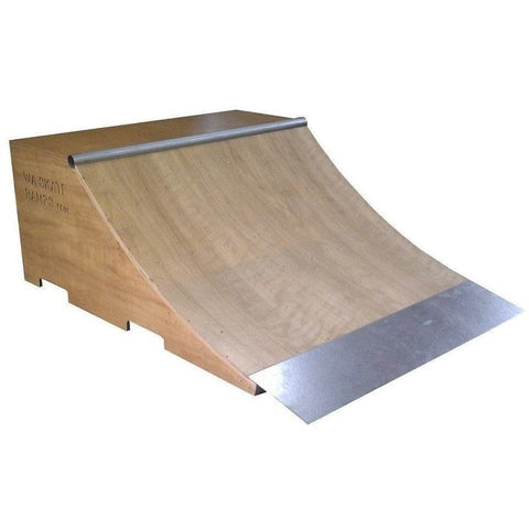 WA Skate Ramps 60cm High x 1.8m Wide Quarter Pipe Skate Ramp