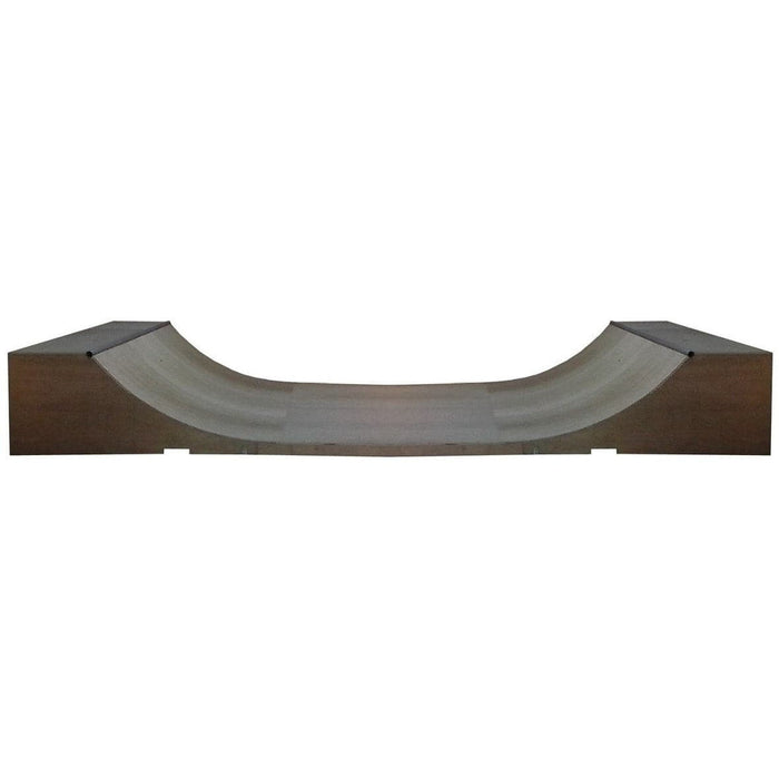 WA Skate Ramps 60cm High x 2.4m Wide Halfpipe (2ft High x 8ft Wide) - WA Skate Ramps - Ramp Champ