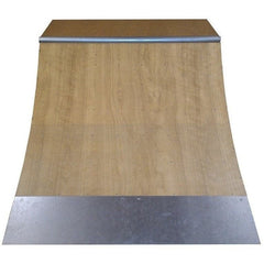 WA Skate Ramps 60cm x 2.4m Quarter Pipe Ramp (2ft High x 8ft Wide)