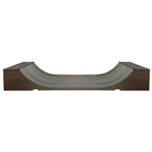 WA Skate Ramps 90cm High x 1.2m Wide Halfpipe (3ft High x 4ft Wide) - WA Skate Ramps - Ramp Champ