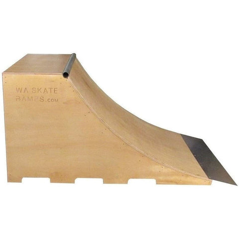 WA Skate Ramps 90cm High x 1.8m Wide Quarter Pipe Skate Ramp