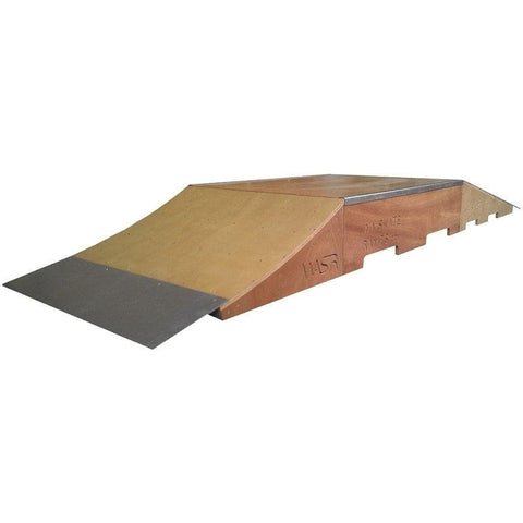 WA Skate Ramps Skate Fun-Box Set Kicker Ramp + Grindbox + Wedge Ramp Set