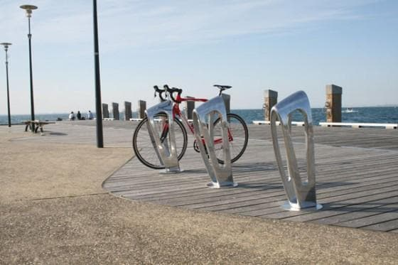 Zephyr Architectural Designer Bike Storage Bollard - Barrier Group - Ramp Champ