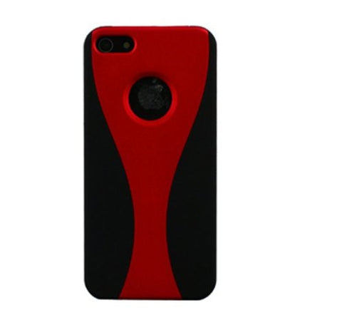 IPHONE 5S/5 IPHONE 5 2 tone - red/black