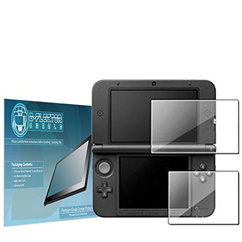 DFlectorshield Premium Scratch Resistant Screen Protector for the New Nintendo 3DS XL HD Protection with free Lifetime Replacement Program