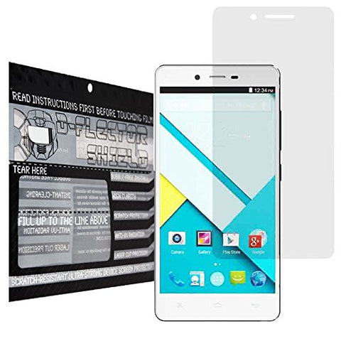 DFlectorshield Premium Scratch Resistant Screen Protector for Blu Studio Energy HD Protection with free Lifetime Replacement Program