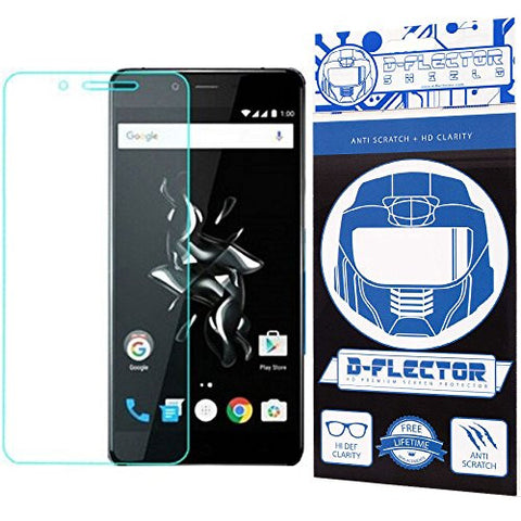 DFlectorshield Screen Protector for the OnePlus Mini with free Lifetime Replacement Program