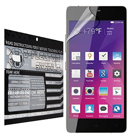 DFlectorshield Premium Scratch Resistant Screen Protector for Blu Vivo Air HD Protection with free Lifetime Replacement Program