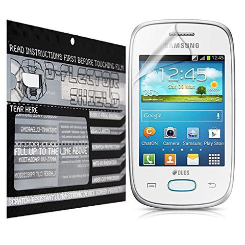 D-Flectorshield Samsung Galaxy Pocket 2 Scratch Resistant Screen Protector - Free Replacement Program
