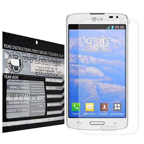 DFlectorshield Premium Scratch Resistant Screen Protector LG F70 HD Protection with free Lifetime Replacement Program