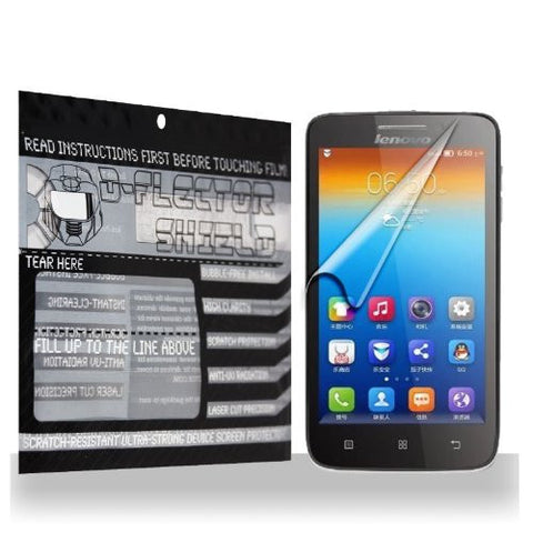 D-Flectorshield Lenovo S650 Scratch Resistant Screen Protector - Free Replacement Program