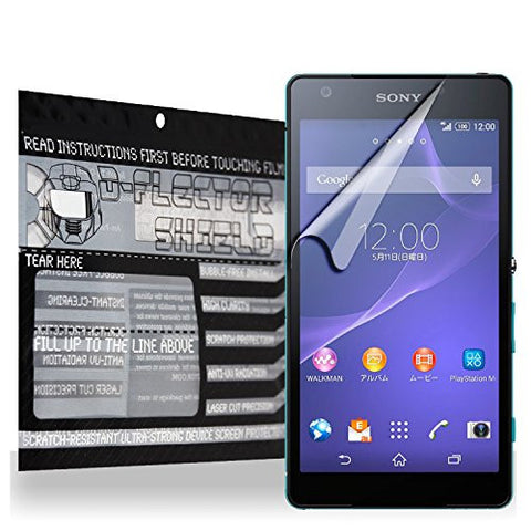 D-Flectorshield Scratch Resistant Sony Xperia Z2A Premium screen protector/anti-scratch/scratch resistant/self-healing technology/oleophobic material/high definition/bubble free install/Precise and accurate fitment with lifetime free replacement program