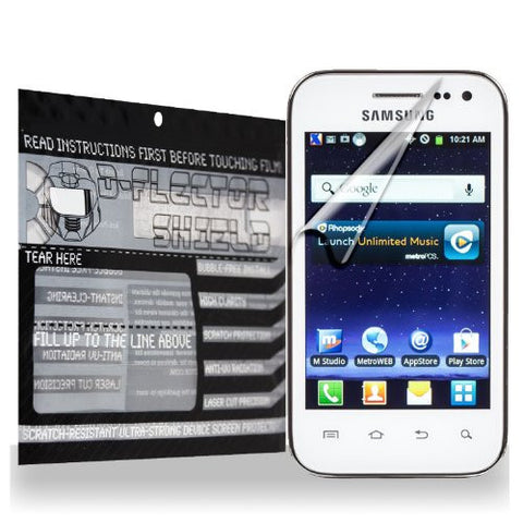 D-Flectorshield Samsung Galaxy Admire 2 Scratch Resistant Screen Protector - Free Replacement Program
