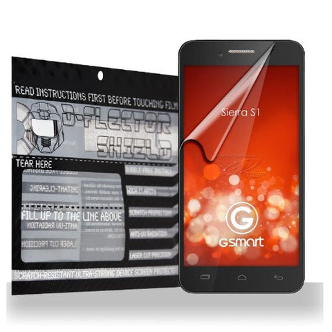D-Flectorshield Gigabyte GSmart Sierra S1 Scratch Resistant Screen Protector - Free Replacement Program