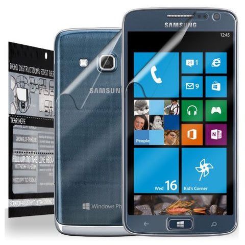 D-Flector Super HD Clear Scratch Resistant SAMSUNG ATIV S NEO Screen Protector + Full Body Shield - Free Replacement Program