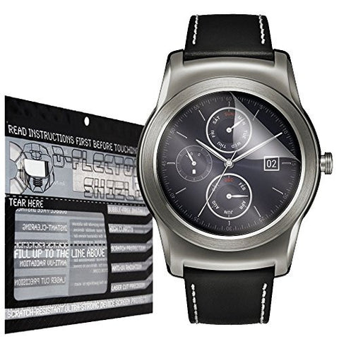 DFlectorshield Premium Scratch Resistant Screen Protector for the LG Watch Urbane HD Protection with free Lifetime Replacement Program