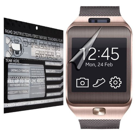 D-Flectorshield Scratch Resistant Samsung Galaxy Gear 2 Neo Premium screen protector with free lifetime replacement