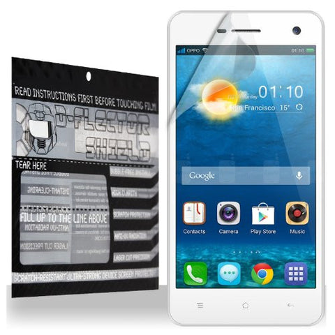 D-Flectorshield Scratch Resistant Oppo R819 Screen Protector - Free Replacement Program