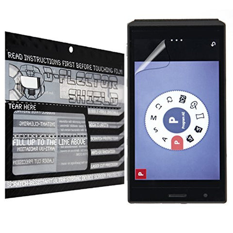 D-Flectorshield Panasonic Lumix CM1 Scratch Resistant Screen Protector - Free Replacement Program