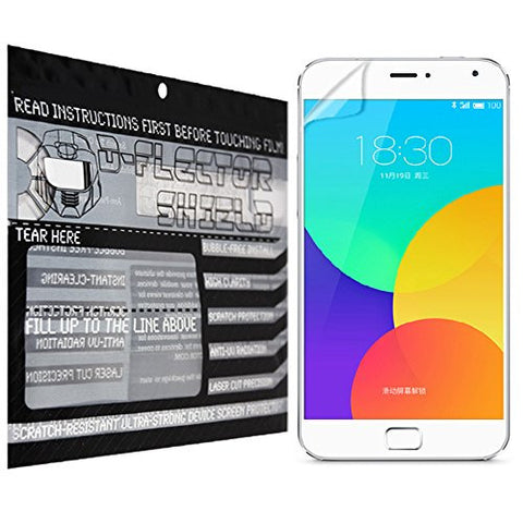 D-Flectorshield Meizu Mx4 pro Scratch Resistant Screen Protector - Free Replacement Program