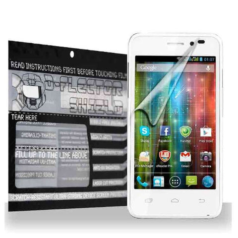 D-Flectorshield Prestigio MultiPhone 5450 Duo Scratch Resistant Screen Protector - Free Replacement Program