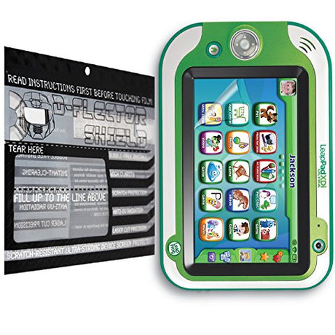 D-Flectorshield Scratch Resistant Screen Protector for Leapfrog ultra XDI bundle - Free Replacement Program