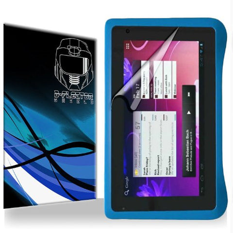 "D-Flectorshield Ematic 7"" FunTab Pro Tablet Scratch Resistant Screen Protector - Free Replacement Program"