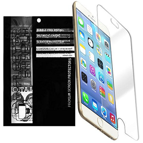 D-Flectorshield Instant Clear Apple iPhone 6 4.7' (3 Pack)Premium screen protector/anti-scratch/EZ install/Japan PET/oleophobic material/high definition/bubble free install/Precise and accurate fitment with lifetime free replacement program