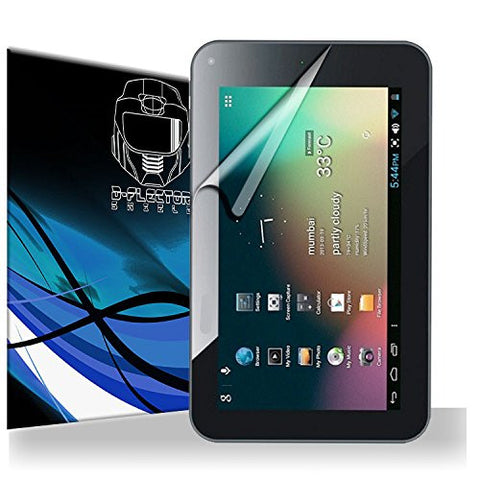 D-Flectorshield Maxwest Orbit 10QC Screen Protector Scratch Resistant / Self Healing Technology / HD Clarity / lint and bubble free Installation