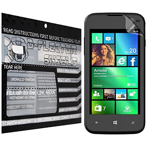 D-Flectorshield Lava Iris Win1 Scratch Resistant Screen Protector - Free Replacement Program