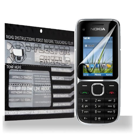 D-Flectorshield Nokia C2-01 Scratch Resistant Screen Protector - Free Replacement Program