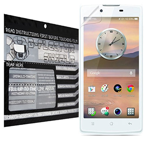 D-Flectorshield Oppo Neo 3 Scratch Resistant Screen Protector - Free Replacement Program